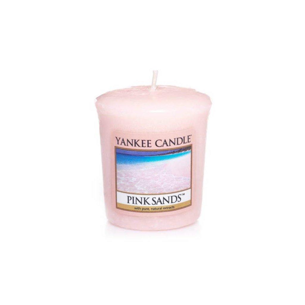 Yankee Candle - votivní svíčka Pink Sands (Růžové písky) 49g