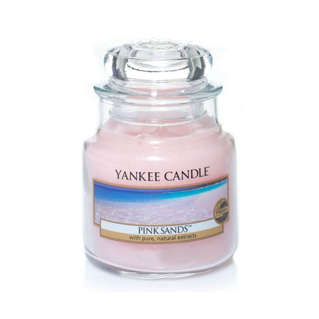 Yankee Candle - vonná svíčka Pink Sands (Růžové písky) 104g