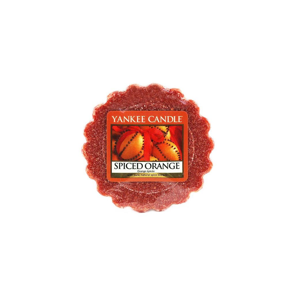 Yankee Candle - vonný vosk Spiced Orange 22g