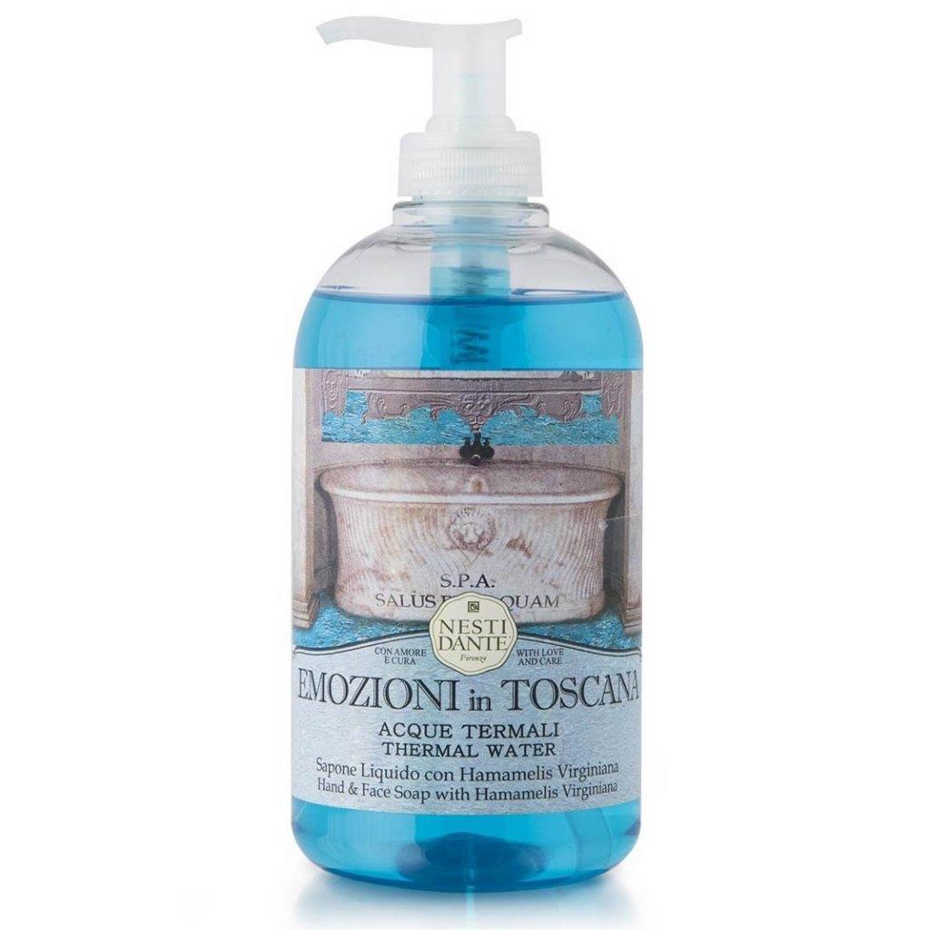 Nesti Dante - přírodní tekuté mýdlo Emozioni in Toscana, Termální voda 500 ml