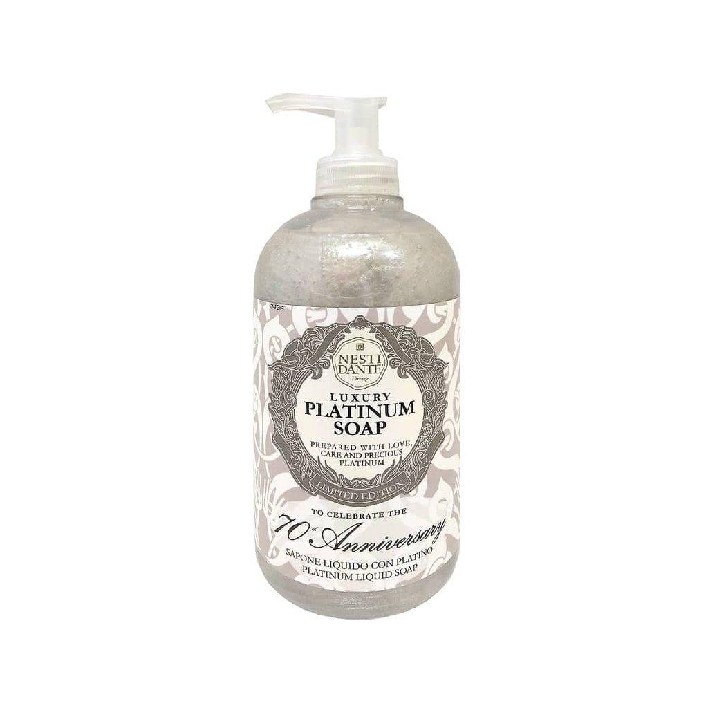 Nesti Dante - přírodní tekuté mýdlo Luxury Platinum Soap 500 ml