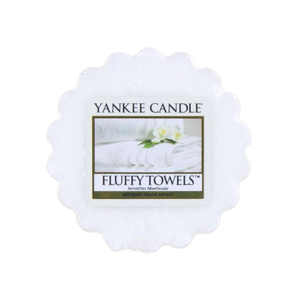 Yankee Candle - vonný vosk Fluffy Towels 22g