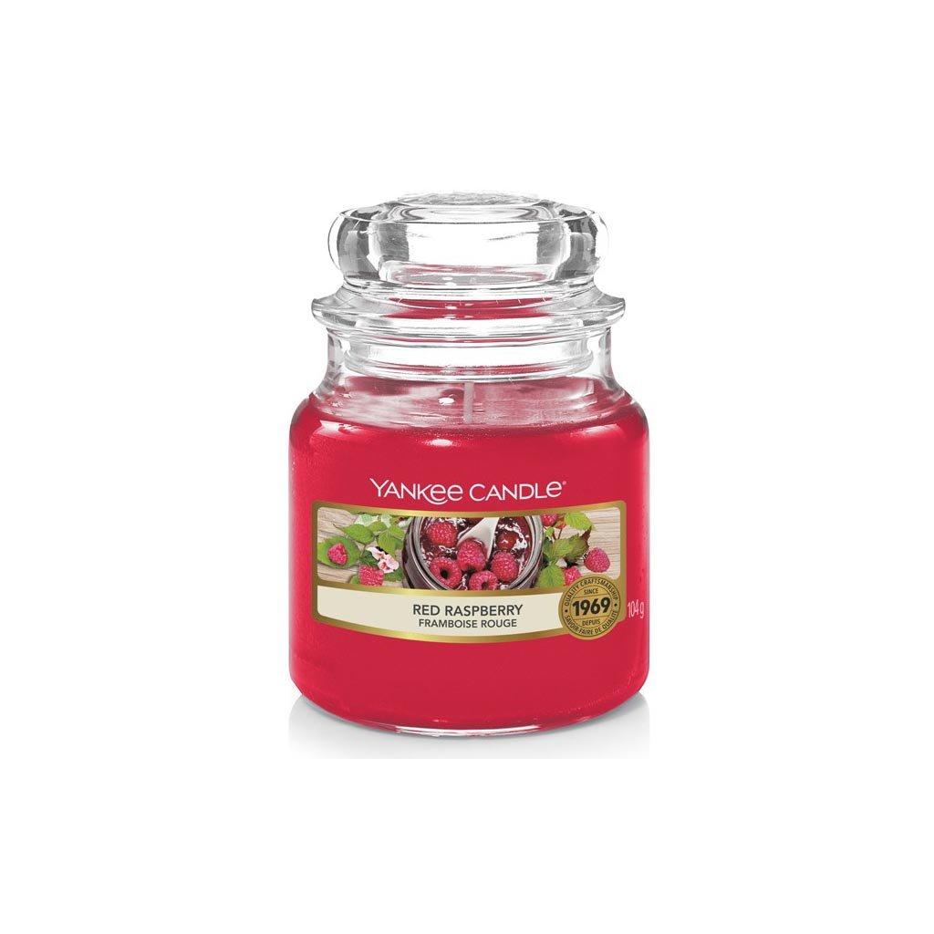 Yankee Candle - vonná svíčka Red Raspberry (Červená malina) 104g