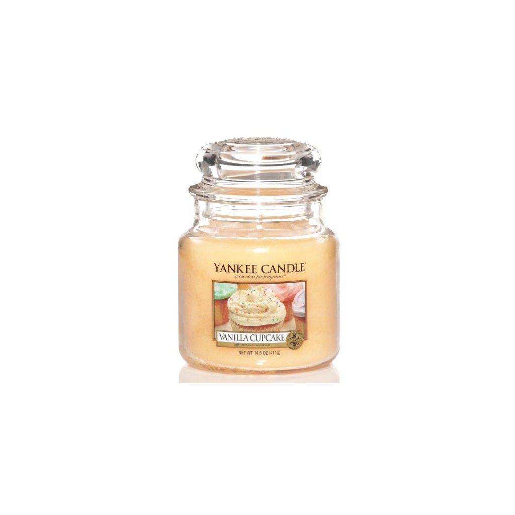 Yankee Candle - vonná svíčka Vanilla Cupcake (Vanilkový košíček) 411g