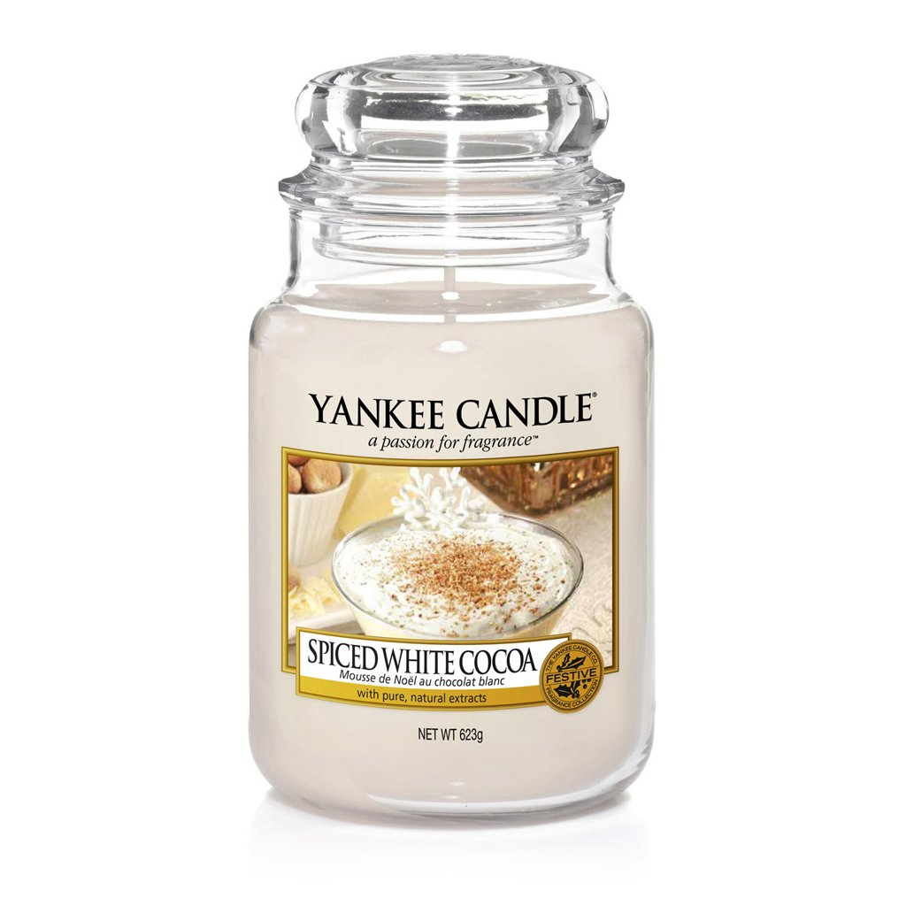 Yankee Candle - Spiced White Cocoa 623g