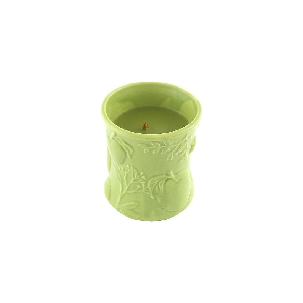 WoodWick - vonná svíčka Košík jablek, keramika 142g