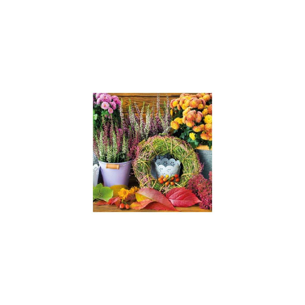 Ubrousky Podzimní pocit 33x33 cm, 20 ks