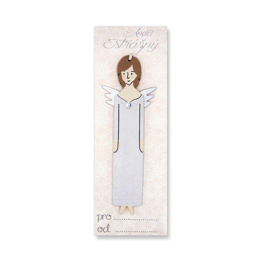 Anděl strážný s věnováním