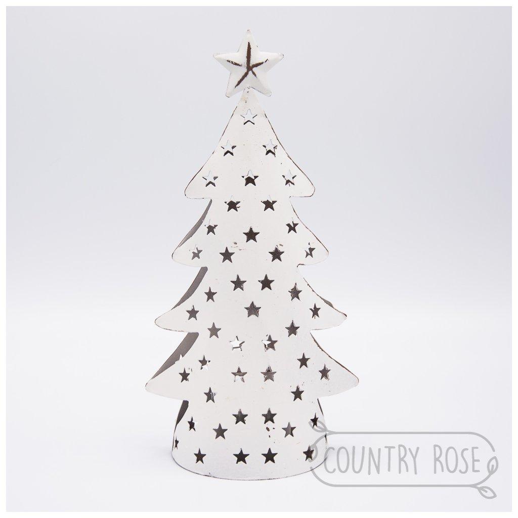 Vánoční stromeček, svícen na čajové a votivní svíčky