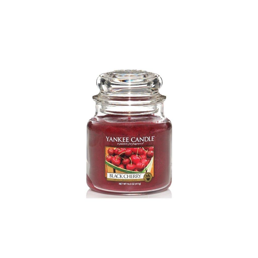 Yankee Candle - vonná svíčka Black Cherry 411g