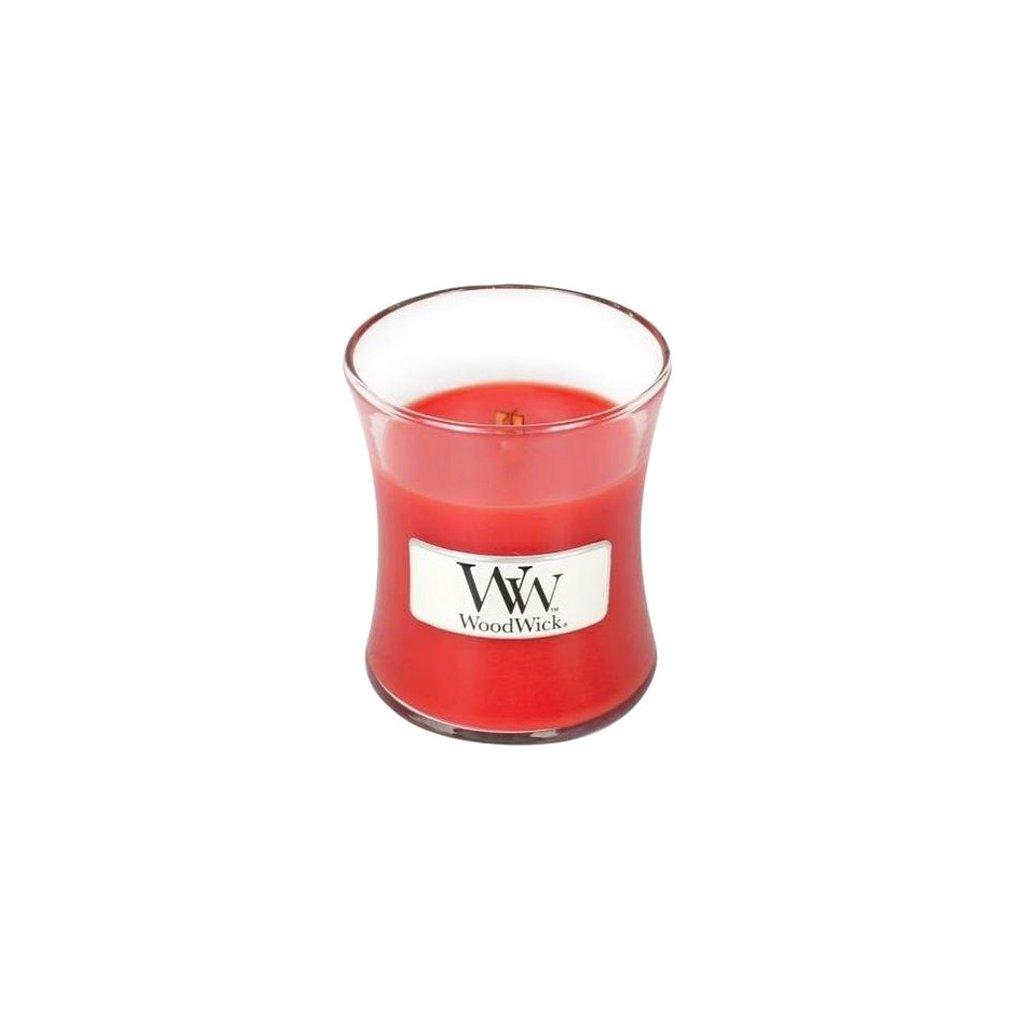 WoodWick - vonná svíčka Granátové jablko 85g