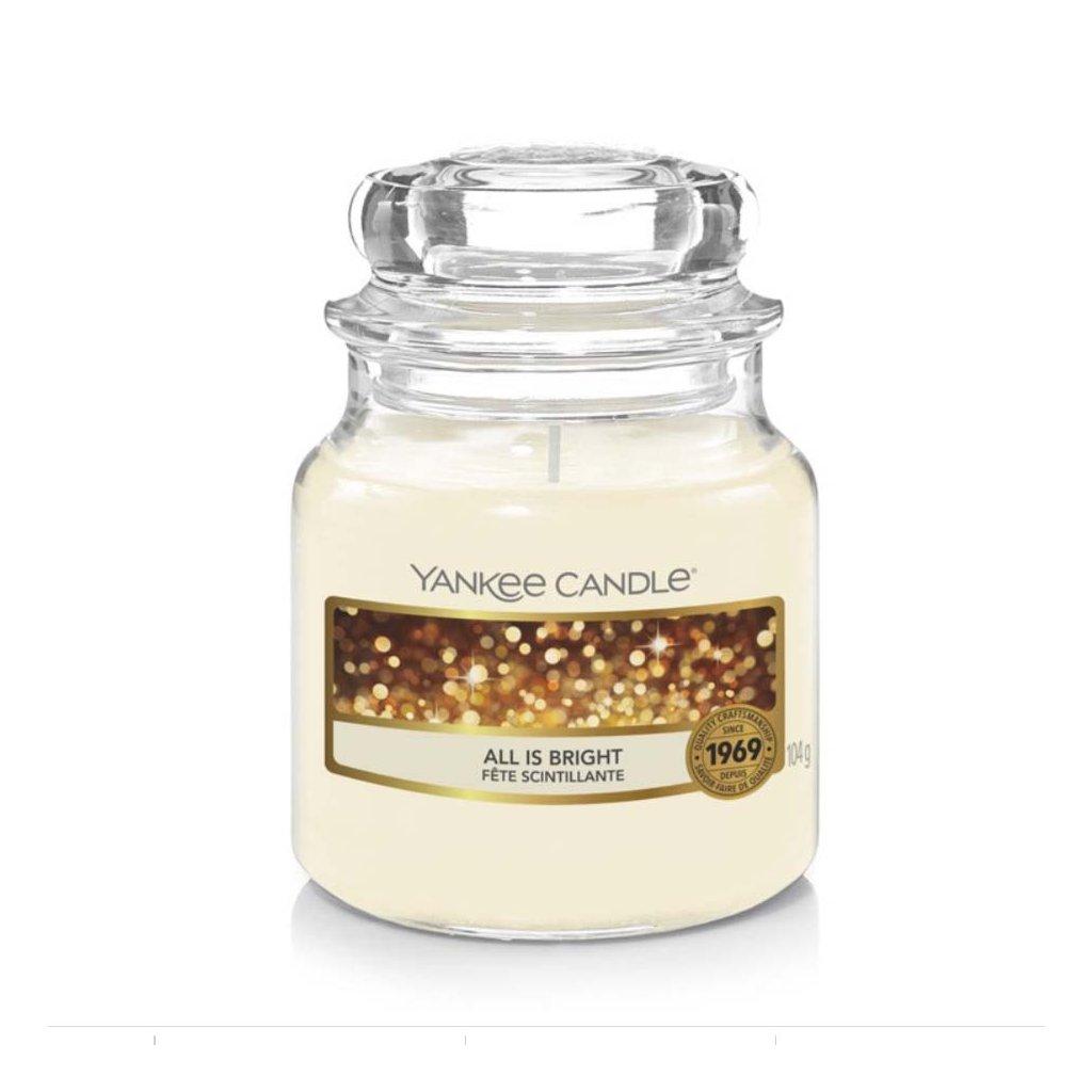 Yankee Candle - vonná svíčka All Is Bright (Všechno jen září) 104g