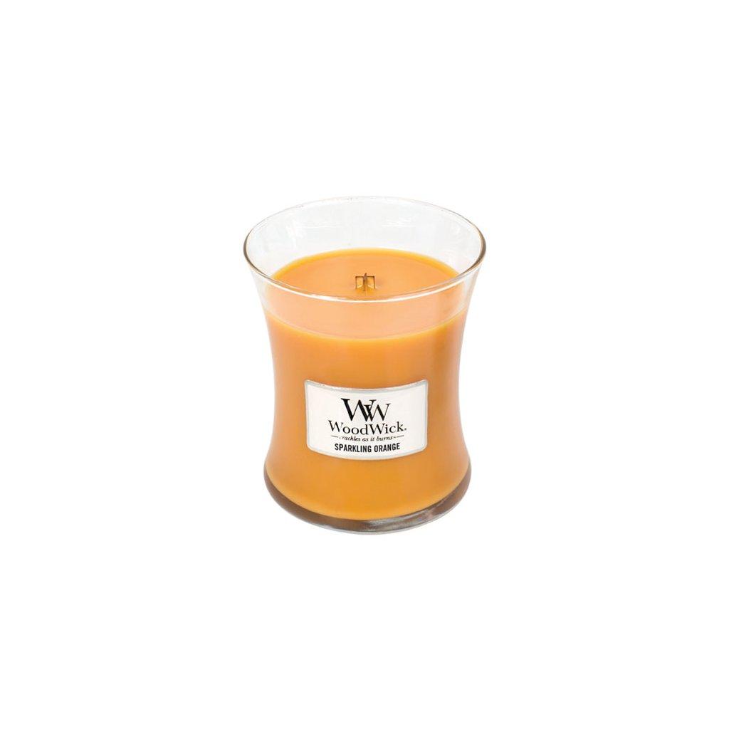 WoodWick - vonná svíčka Jiskřivý pomeranč 275g