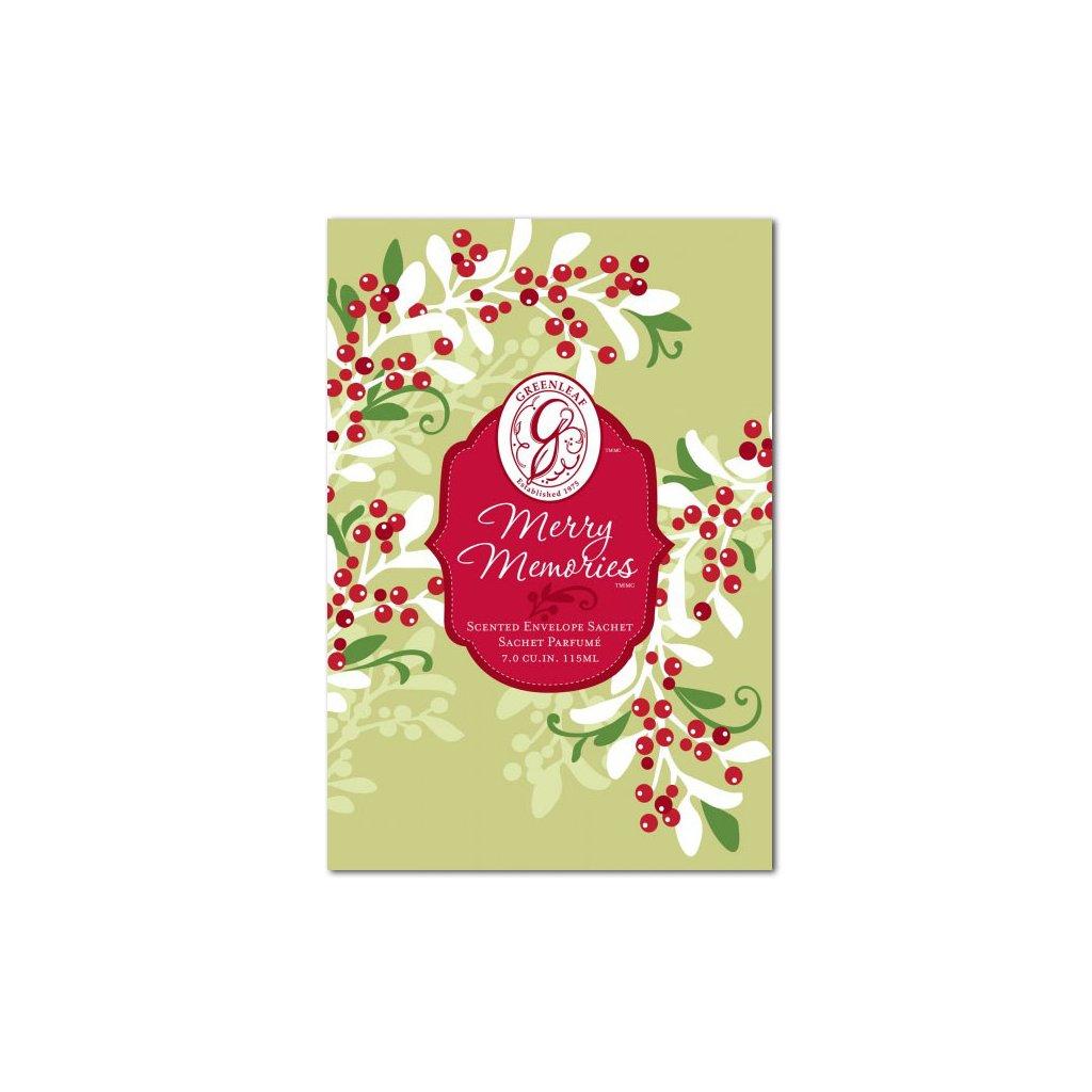 Greenleaf - vonný sáček Merry Memories 115ml