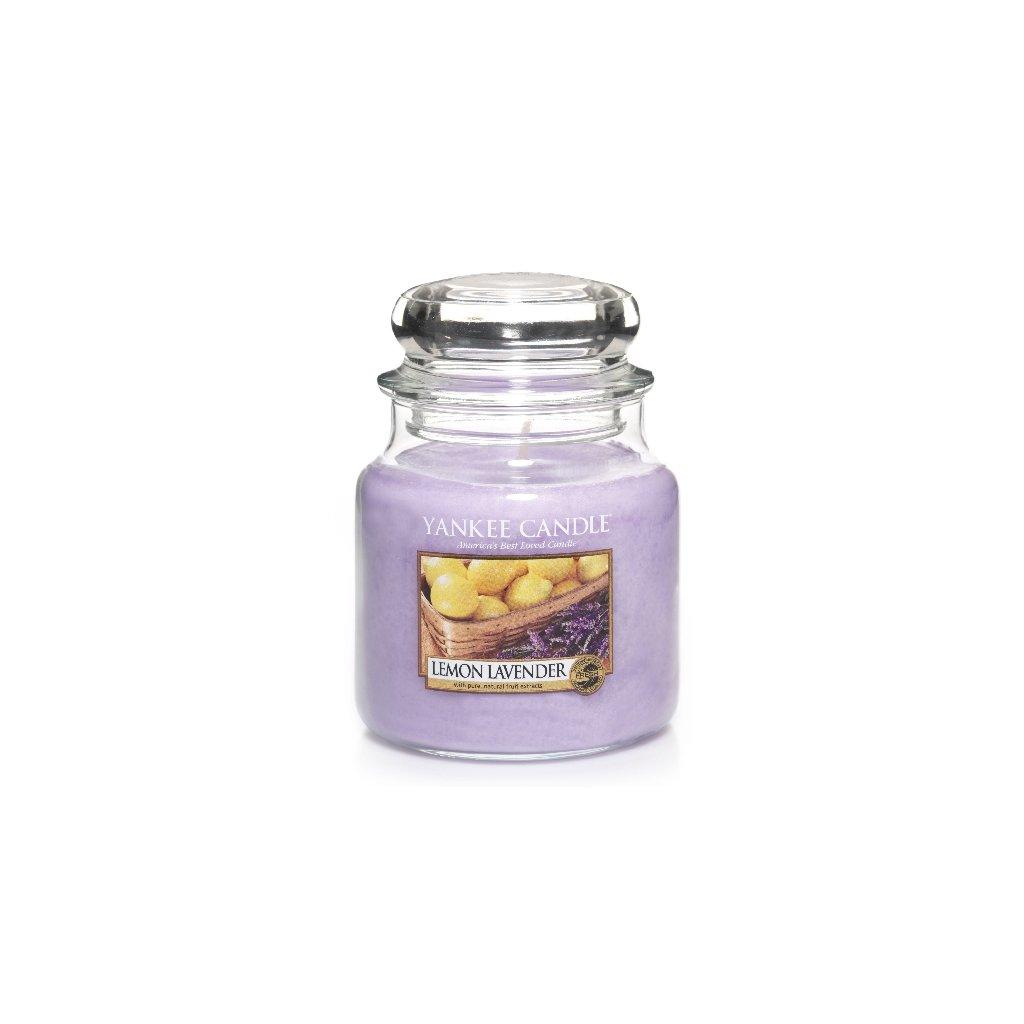 Yankee Candle - vonná svíčka Lemon Lavender 411g
