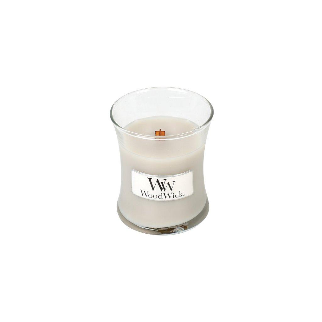 WoodWick - vonná svíčka Warm Wool (Hřejivá vlna) 85g