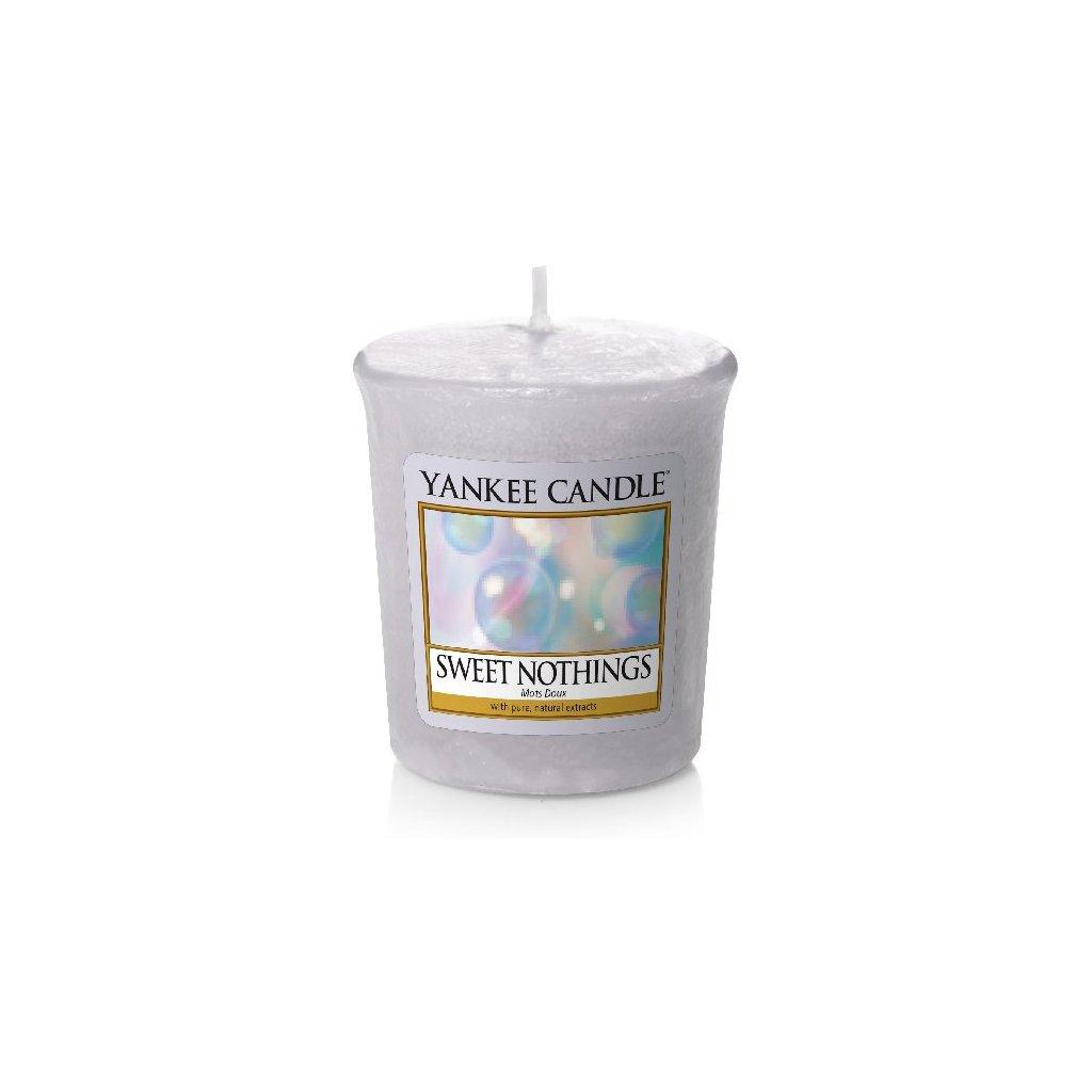 Yankee Candle - votivní svíčka Sweet Nothings 49g