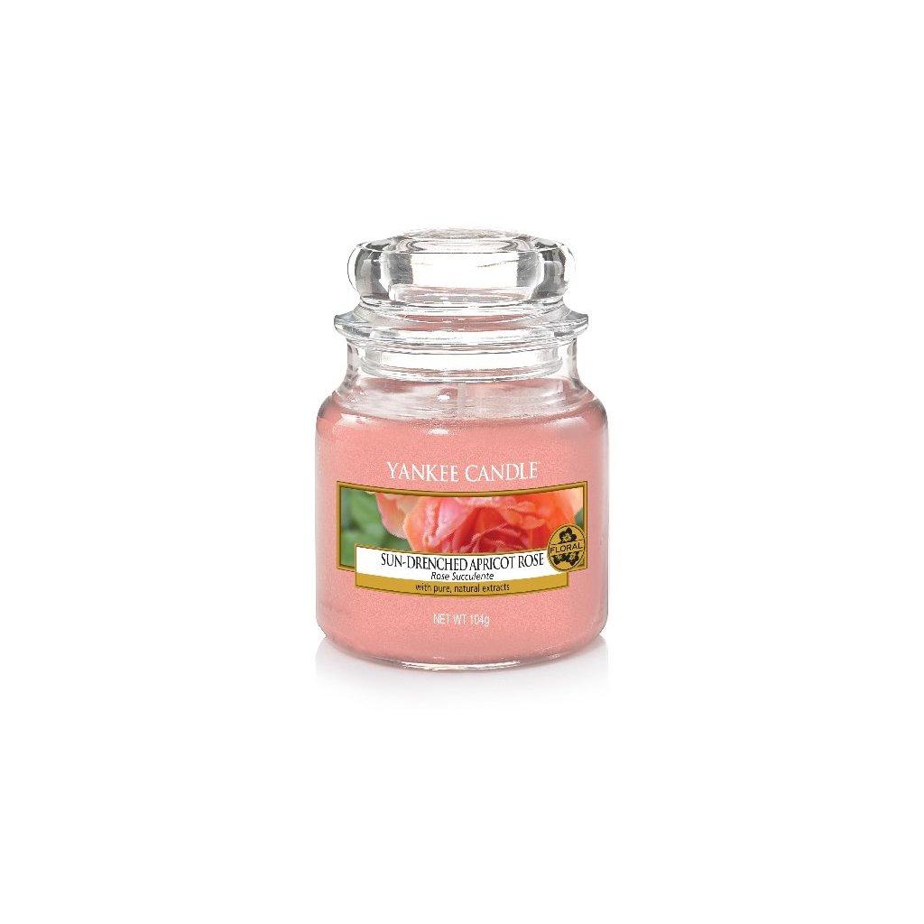 Yankee Candle - vonná svíčka Sun-Drenched Apricot Rose 104g
