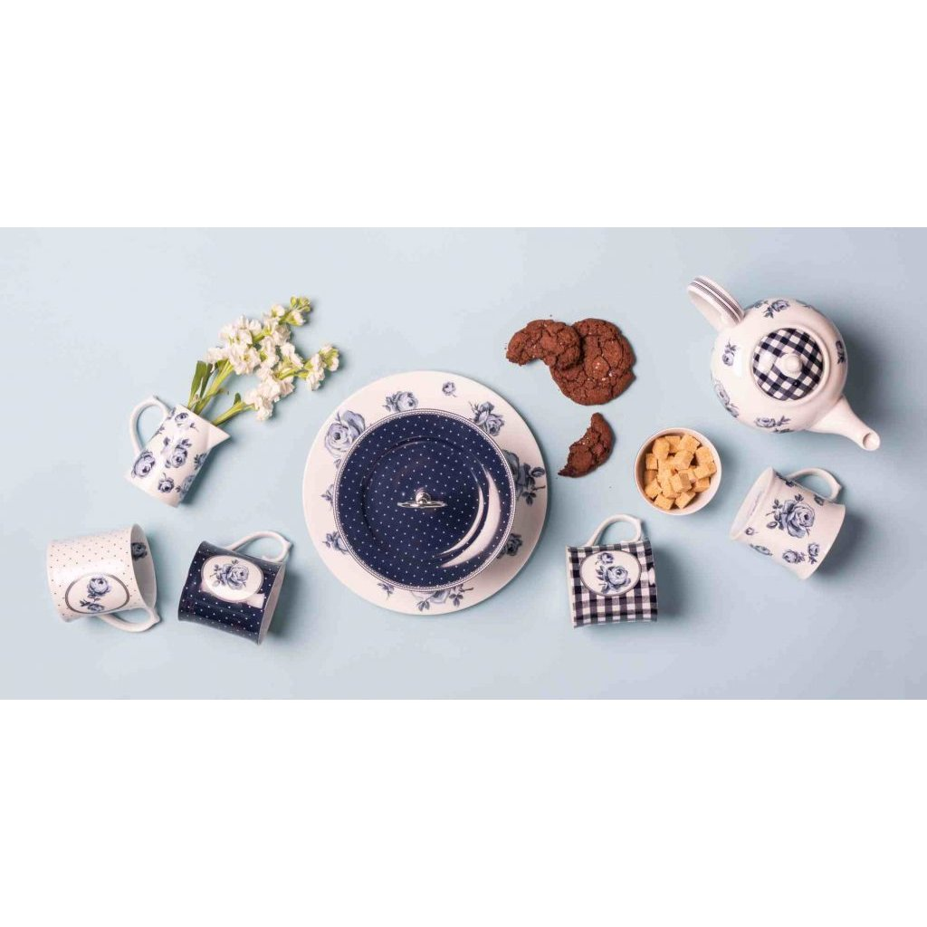 Katie Alice - hrnek White Floral 400 ml