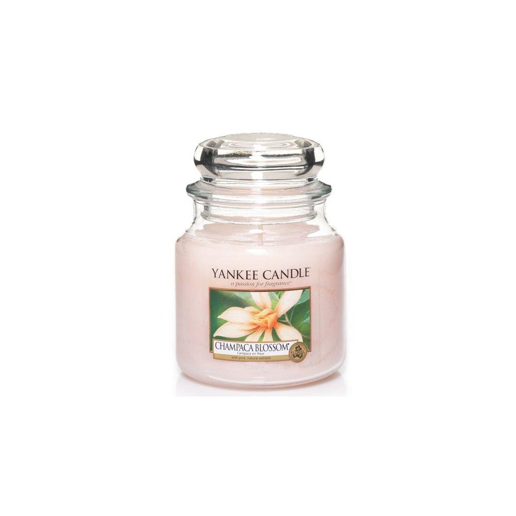 Yankee Candle - vonná svíčka Champaca Blossom (Květ magnólie) 411g