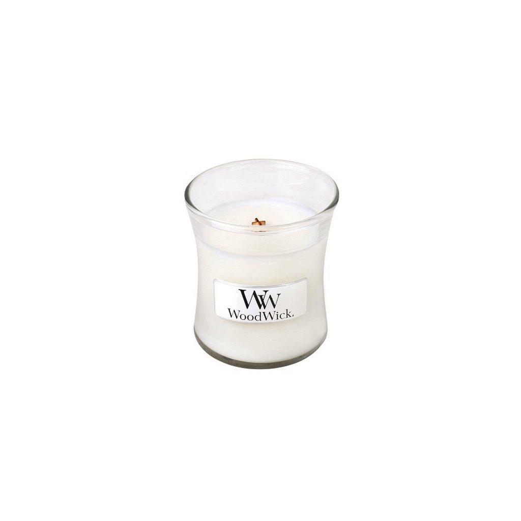 WoodWick - vonná svíčka Magnolia (Magnólie) 85g