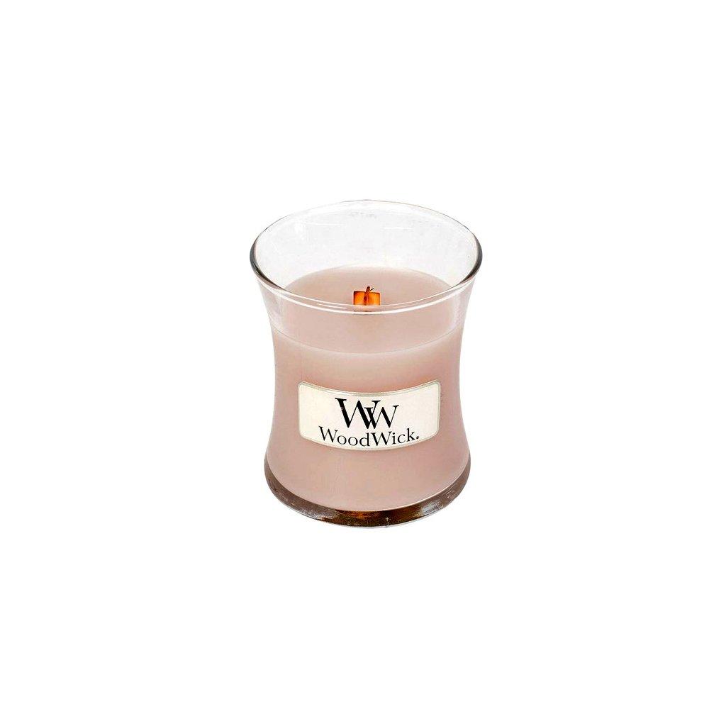 WoodWick - vonná svíčka Vanilka & mořská sůl 85g
