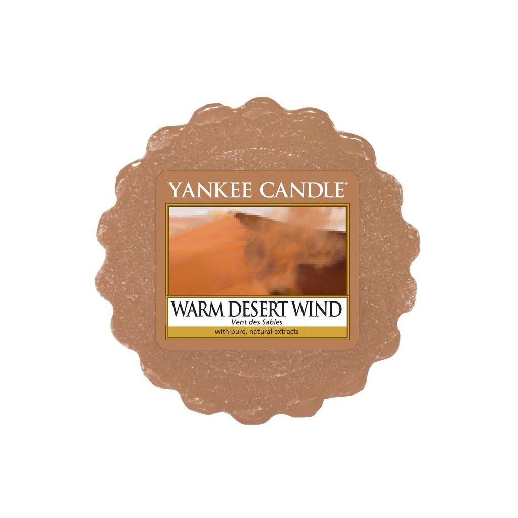 Yankee Candle - vonný vosk Warm Desert Wind (Teplý pouštní vítr) 22g
