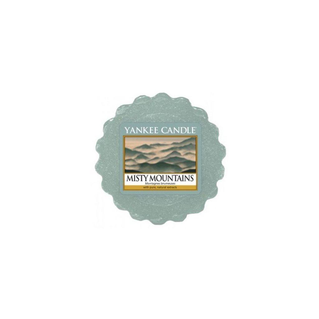 Yankee Candle - vonný vosk Misty Mountains (Mlžné hory) 22g