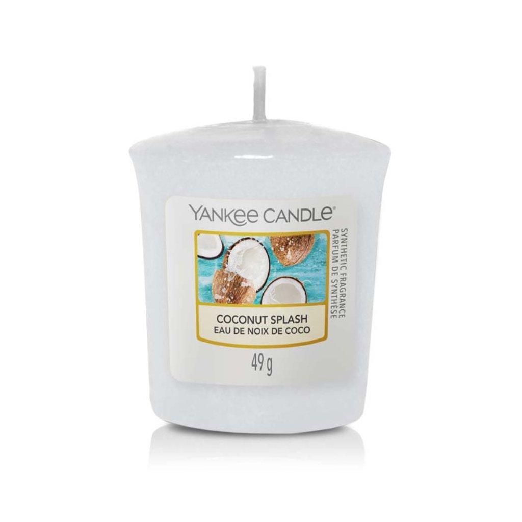 Yankee Candle - votivní svíčka Coconut Splash (Kokosové osvěžení) 49g