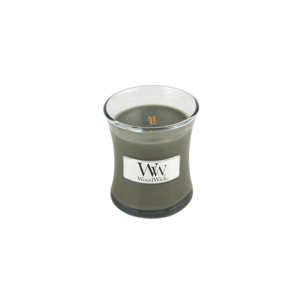 WoodWick - vonná svíčka Evening Bonfire (Večer u táboráku) 85g