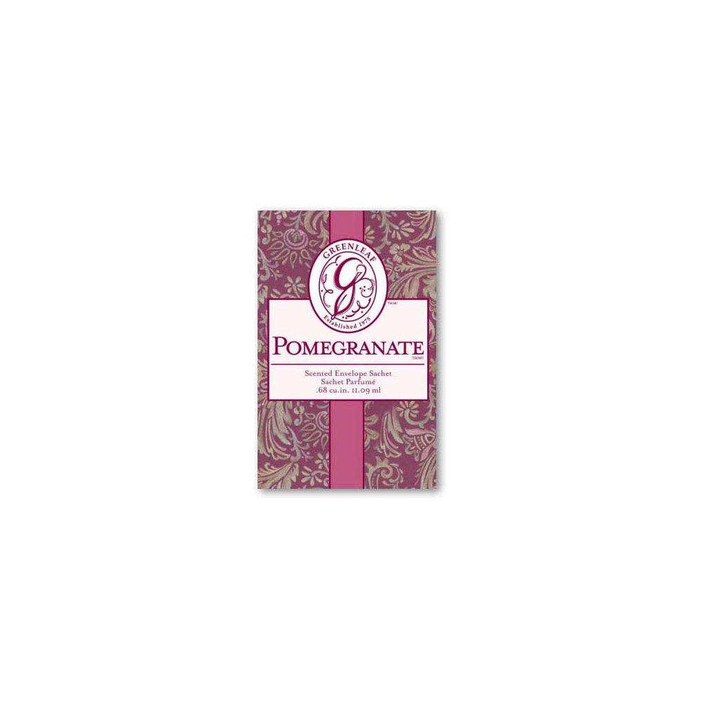 Greenleaf - vonný sáček malý Pomegranate 11ml