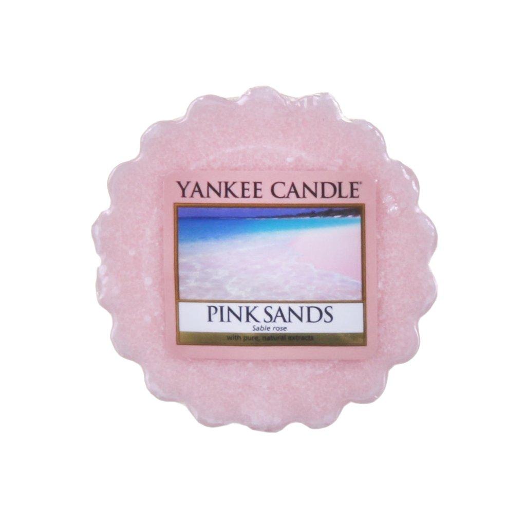 Yankee Candle - vonný vosk Pink Sands (Růžové písky) 22g