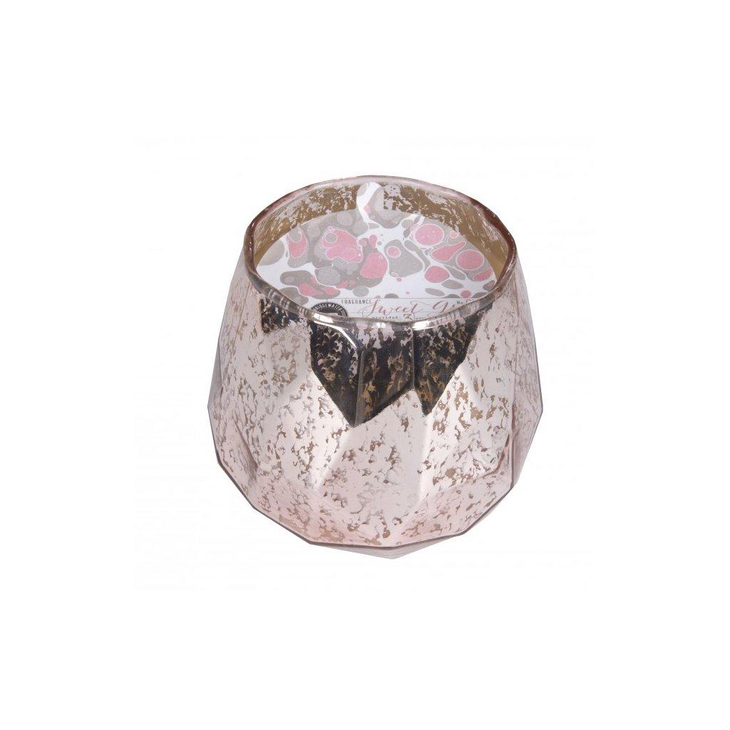 Bridgewater - vonná svíčka Sweet Grace ve zdobeném skle, 450g