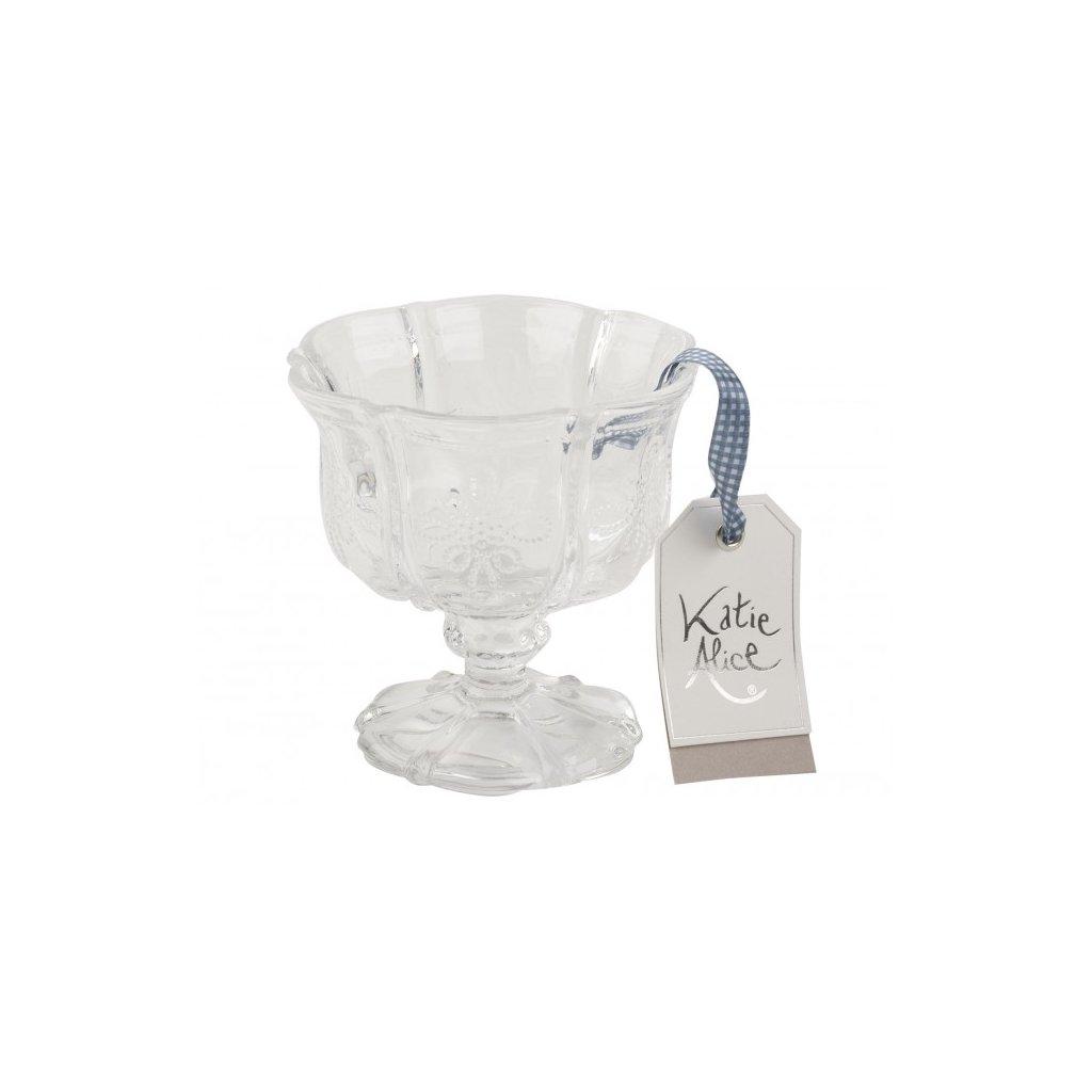 Katie Alice - skleněný pohár Clear Sundae Dish