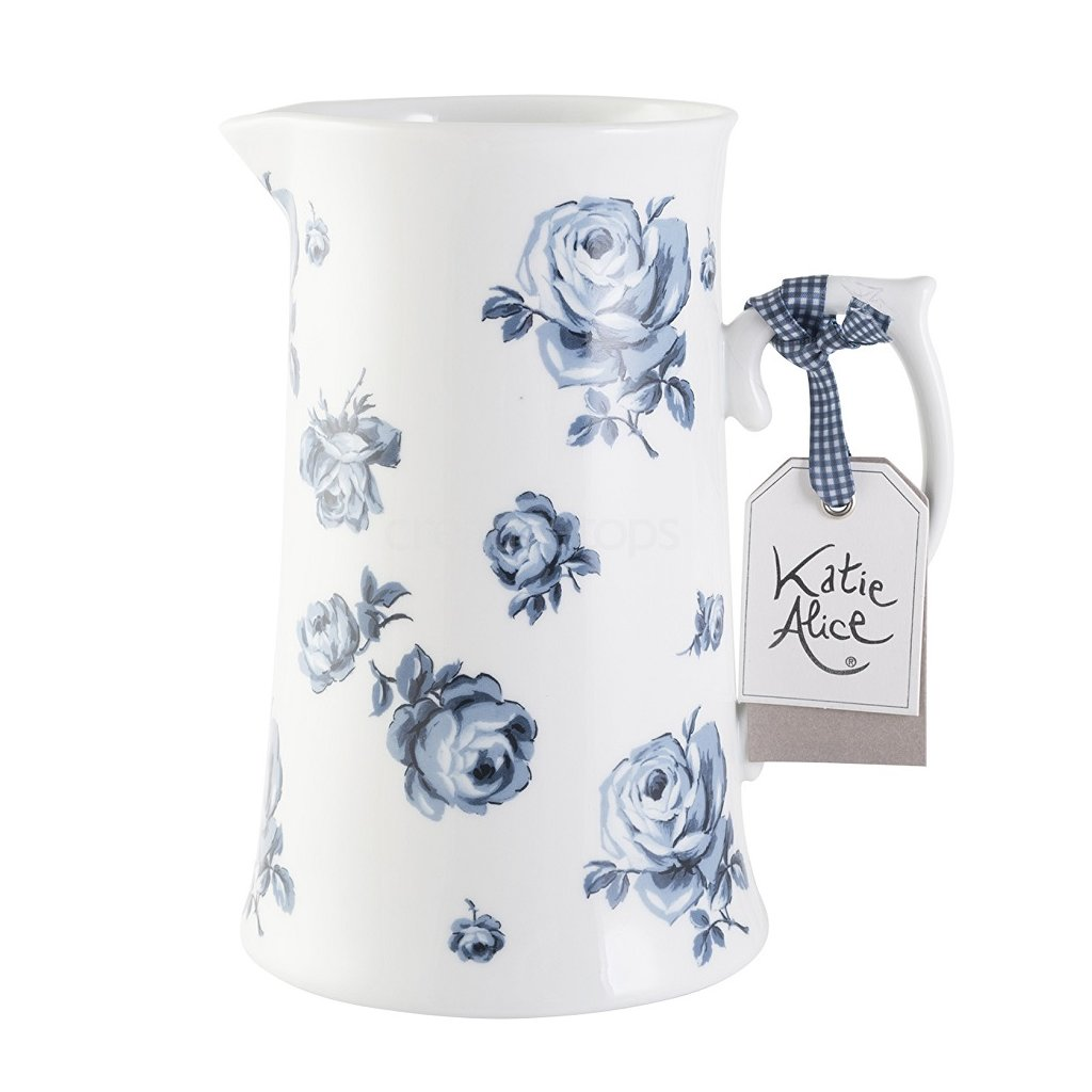 Katie Alice - porcelánový džbán White Floral 1,1 l