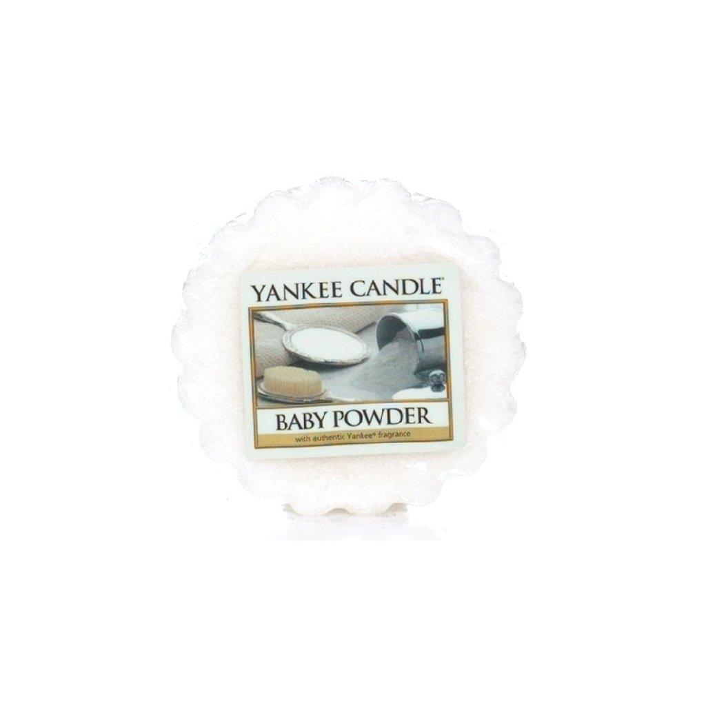 Yankee Candle - vonný vosk Baby Powder 22g