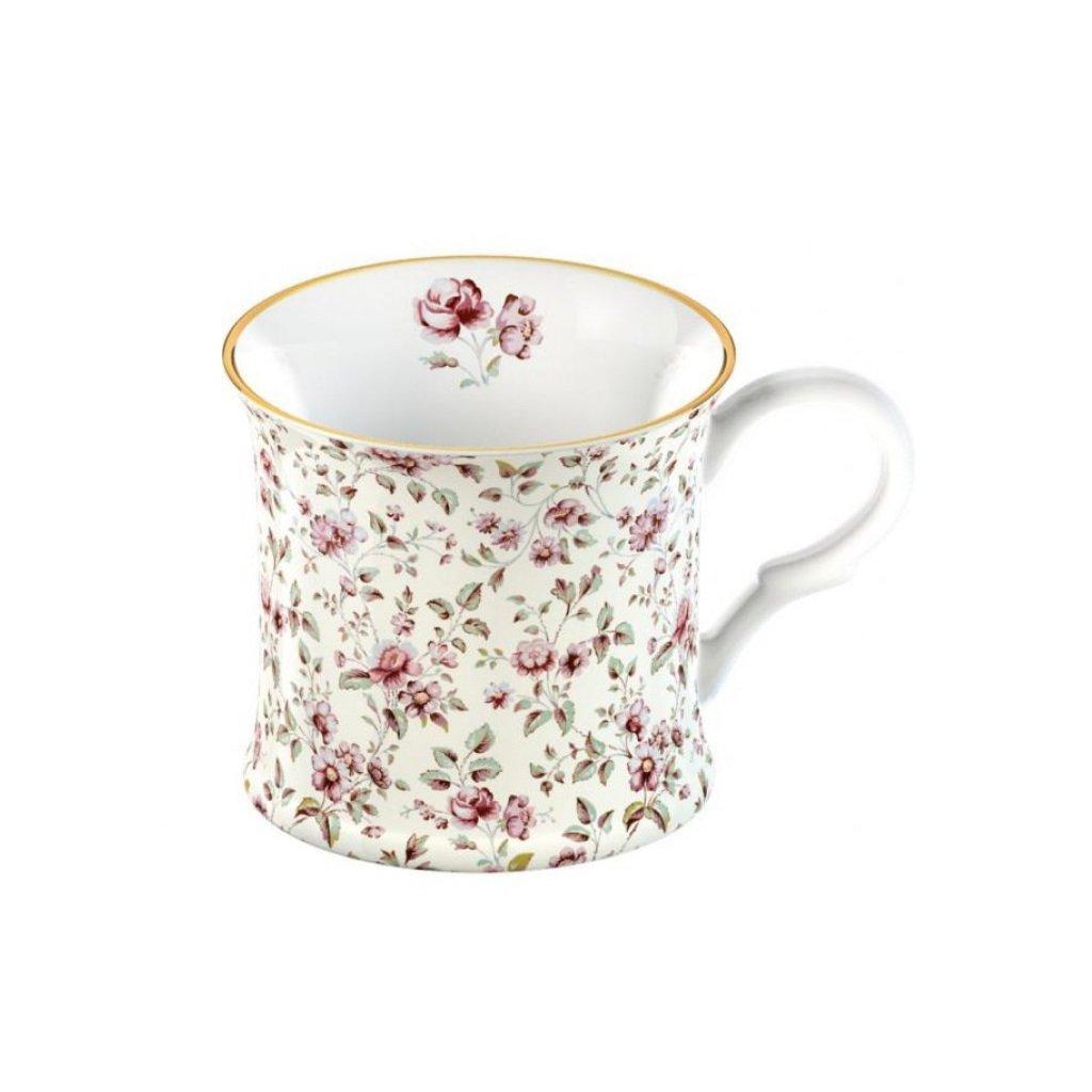 Katie Alice - hrnek Ditsy White Floral 250 ml