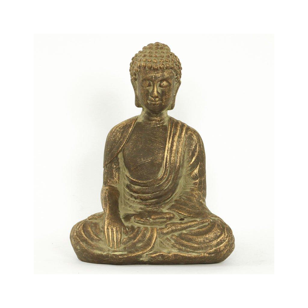 Soška Buddha, keramická dekorace 28 cm