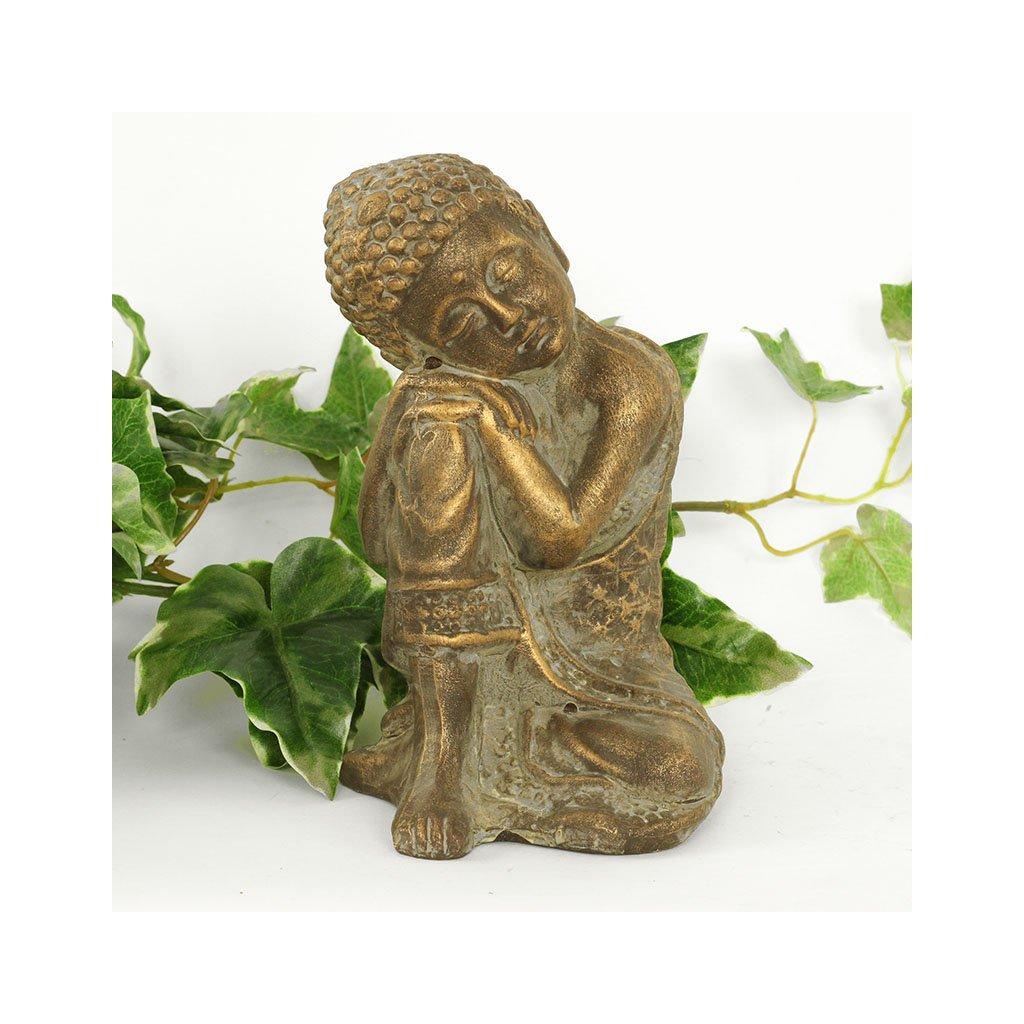 Soška Buddha, keramická dekorace 20 cm