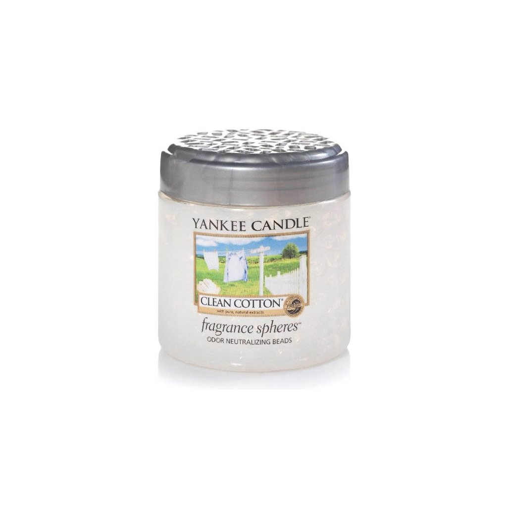 Yankee Candle - Spheres vonné perly Clean Cotton 170g
