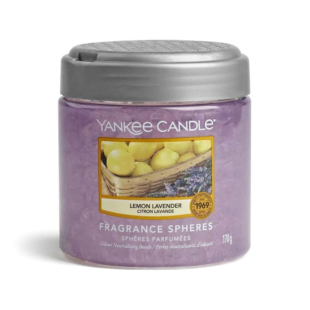 Yankee Candle - Spheres vonné perly Lemon Lavender (Citrón a levandule) 170g