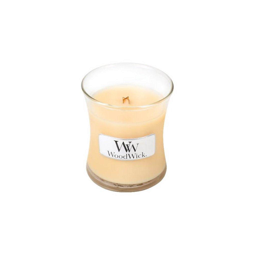 WoodWick - vonná svíčka Honeysuckle (Zimolez & jasmín) 85g