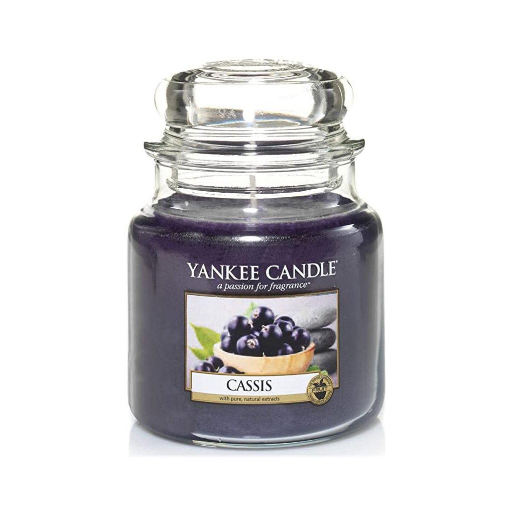 Yankee Candle - vonná svíčka Cassis (Černý rybíz) 411g