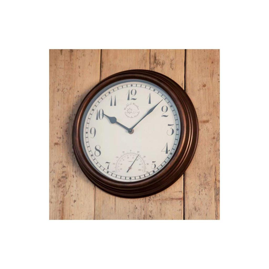Esschert Design - venkovní hodiny s teploměrem  31