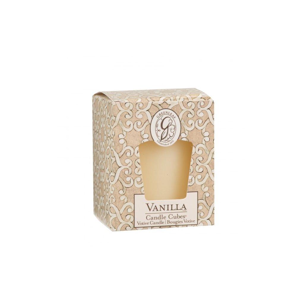 Greenleaf - votivní svíčka Vanilla 56g