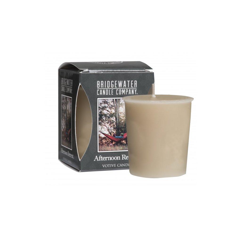 Bridgewater - votivní svíčka Afternoon Retreat 56g