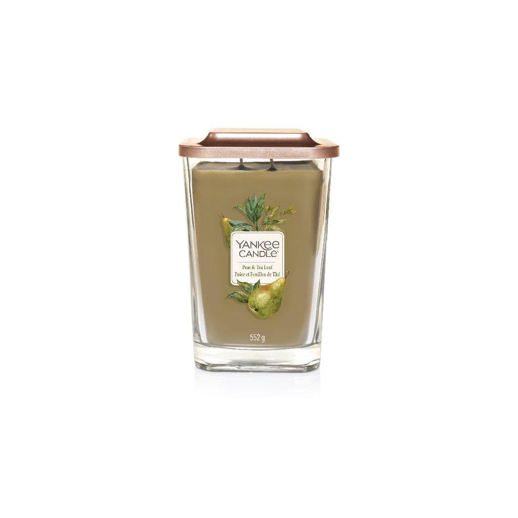 Yankee Candle Elevation - vonná svíčka Pear & Tea Leaf 552g