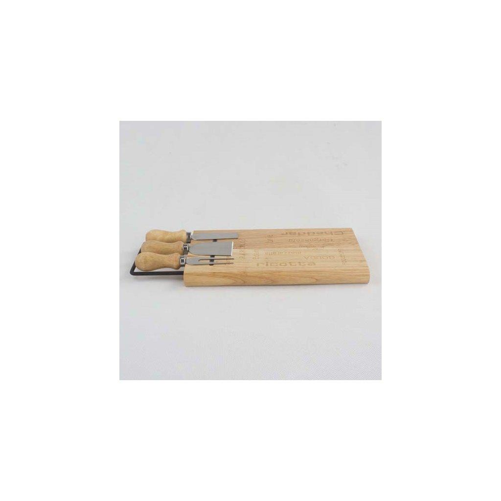 Casa de Engel - bambusové servírovací prkénko na sýr