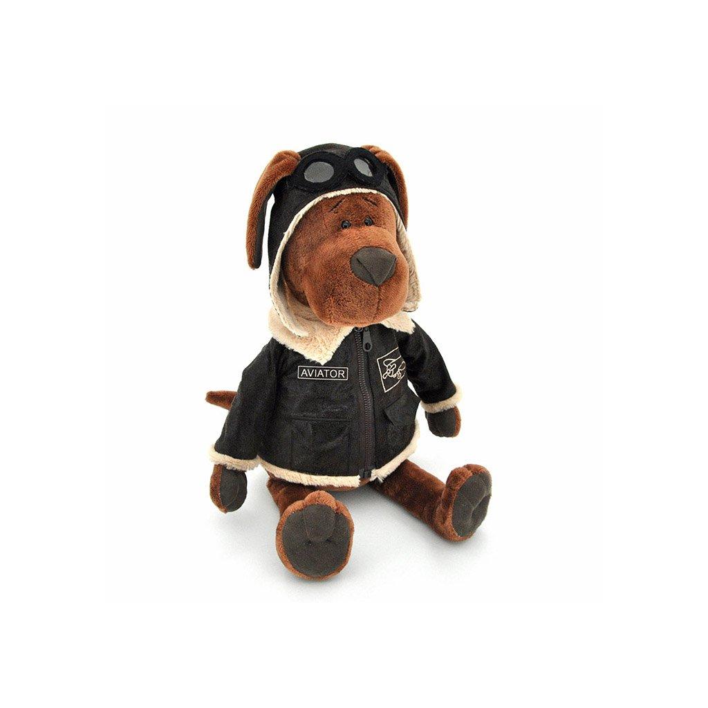 Orange TOYS - plyšový pes pilot Cookie, 45 cm