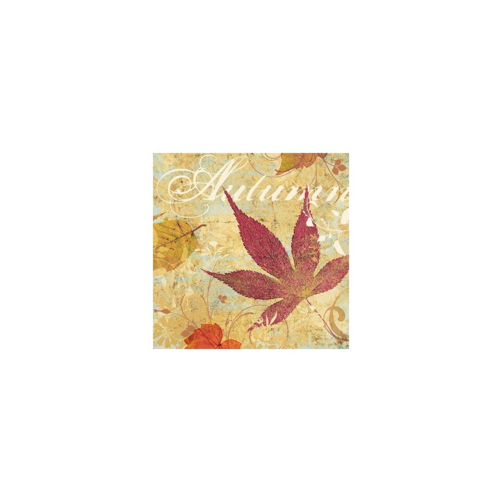 Ubrousky Spadané listí 33x33 cm, 20 ks